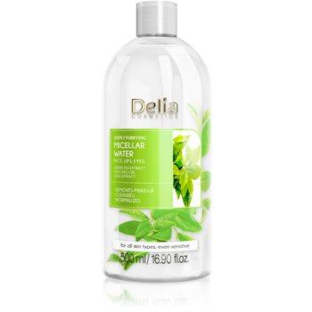 Delia Cosmetics Micellar Water Green Tea apã micelarã purificatoare imagine produs