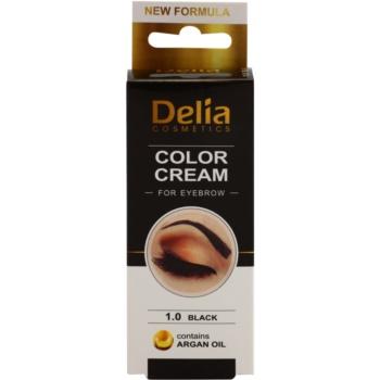Delia Cosmetics Argan Oil coloração para sobrancelhas