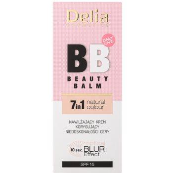 Delia Cosmetics Optical Blur Effect Beauty Balm feuchtigkeitsspendende BB Creme gegen kleine Makel der Haut SPF 15 2