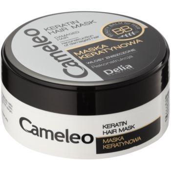 Delia Cosmetics Cameleo BB maseczka keratynowa do włosów zniszczonych