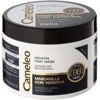 Delia Cosmetics Cameleo BB keratinová maska pro poškozené vlasy 500 ml