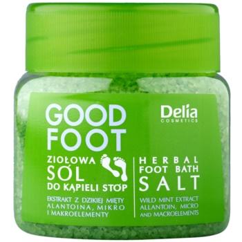 Delia Cosmetics Good Foot Sare de baie pe bază de plante pentru picioare
