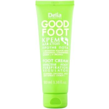 Delia Cosmetics Good Foot crema de picioare impotriva transpiratiei excesive