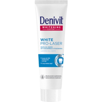 Denivit Pro Laser White pasta intensa de albire a dintilor  50 ml