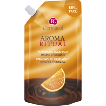 Dermacol Aroma Ritual Belgian Chocolate sãpun lichid rezervã imagine produs