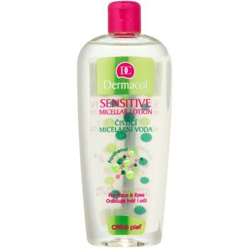 Fotografie Dermacol Sensitive čisticí micelární voda pro citlivou pleť 400 ml