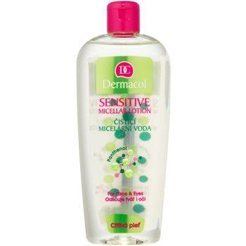 Dermacol Sensitive apa pentru curatare cu particule micele pentru piele sensibila