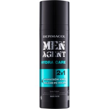 Dermacol Men Agent Hydra Care balsam hidratant dupa barbierit 2 in 1