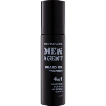 Dermacol Men Agent ulei de îngrijire pentru barbă 4 in 1
