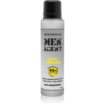 Dermacol Men Agent Total Freedom spray anti-perspirant