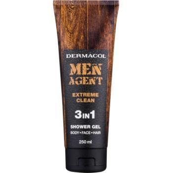Dermacol Men Agent Extreme Clean gel de dus 3 in 1