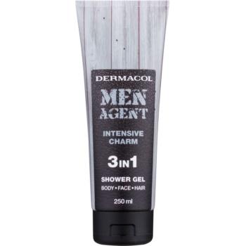Dermacol Men Agent Intensive Charm gel de dus 3 in 1