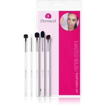 Dermacol Master Brush by PetraLovelyHair set perii machiaj fard de ochi imagine produs