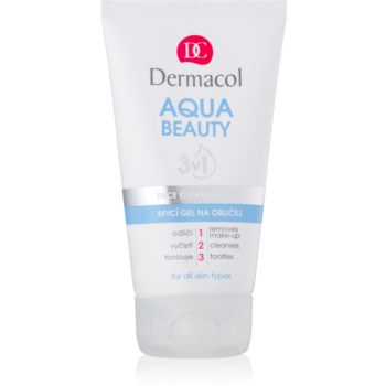 Dermacol Aqua Beauty Gel facial de curatare 3 in 1