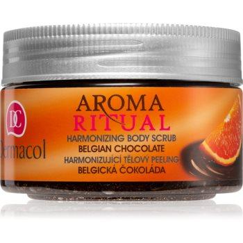 Dermacol Aroma Ritual Belgian Chocolate exfoliant pentru corp poza noua
