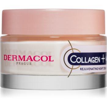 Dermacol Collagen+ crema intensa de noapte pentru reintinerire poza noua