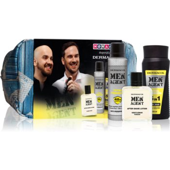 Dermacol Men Agent Total Freedom set cadou (pentru barbati)