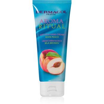 Dermacol Aroma Ritual White Peach crema de maini poza noua