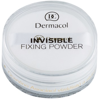 Dermacol Invisible pudra transparent culoare White 13 g