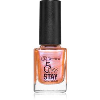 Dermacol 5 Day Stay langanhaltender Nagellack Farbton 49 Fairy 11 ml