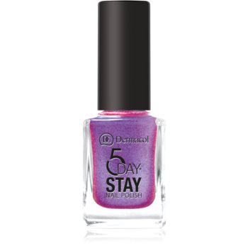 Dermacol 5 Day Stay langanhaltender Nagellack Farbton 49 Unicorn 11 ml