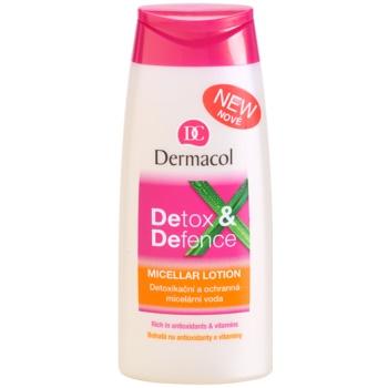 Dermacol Detox & Defence детоксикираща и защитна мицеларна вода за лице, врат и деколкте