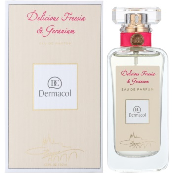 Dermacol Delicious Freesia & Geranium eau de parfum pentru femei
