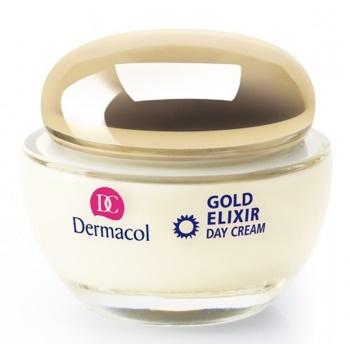 Fotografie Dermacol Omlazující kaviárový denní krém SPF 10 (Gold Elixir Day Cream) 50 ml
