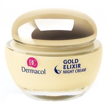 Fotografie Dermacol Omlazující kaviárový noční krém (Gold Elixir Night Cream) 50 ml