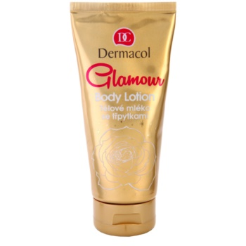 Dermacol Glamour Body lotiune de corp cu particule stralucitoare  200 ml