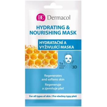 Dermacol Hydrating & Nourishing Mask mască hrănitoare și hidratantă 3D