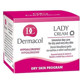 Dermacol Dry Skin Program Lady Cream дневен крем  за суха или много суха кожа 2