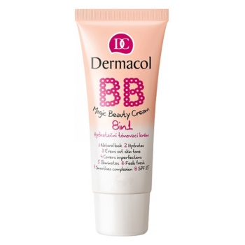 Fotografie Dermacol Hydratační tónovací krém 8 v 1 BB SPF 15 (Magic Beauty Cream) 30 ml Fair