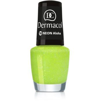 Dermacol Neon lac de unghii cu stralucire neon