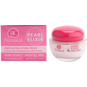 Dermacol Pearl Elixir creme de noite iluminador e de alisamento 1
