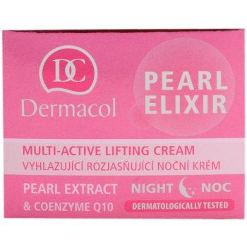 Dermacol Pearl Elixir creme de noite iluminador e de alisamento 3