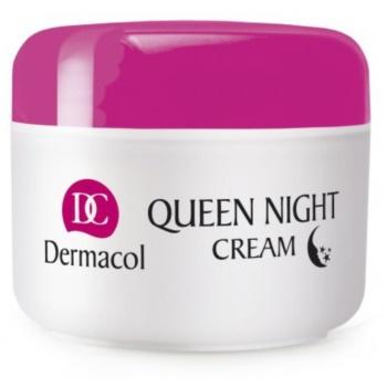 Dermacol Dry Skin Program Queen Night Cream ingrijire de noapte pentru fermitate uscata si foarte uscata