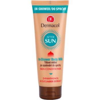 Dermacol After Sun lotiune de corp racoritoare dupa expunerea la soare in dus  250 ml