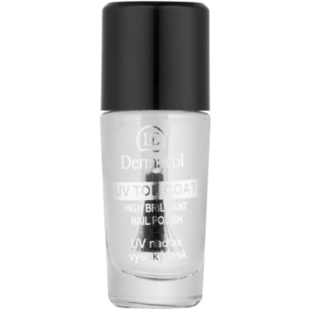 Dermacol UV Top Coat lac de unghii transparent  10 ml