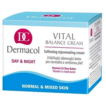 Dermacol Vital vlažilna dnevna krema za normalno do mešano kožo 1