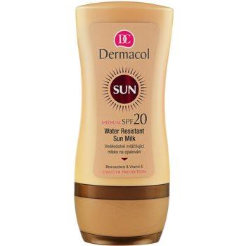 Image of Dermacol Sun Water Resistant Water Resistant Sun Milk SPF 20 200 ml