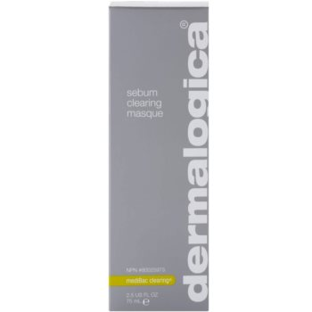 Dermalogica mediBac clearing Máscara facial de limpeza para pele oleosa propensa a acne 2
