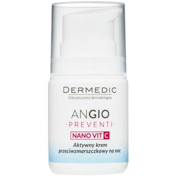 Fotografie Dermedic Angio Preventi protivráskový noční krém 55 g