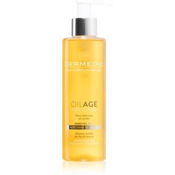 Dermedic Oilage Anti-Ageing ulei pentru spălarea feței, cu detergent sintetic poza noua
