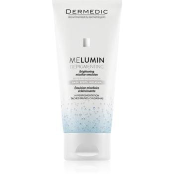Dermedic Melumin emulsie micelara pentru curatare pentru piele cu hiperpigmentare imagine produs