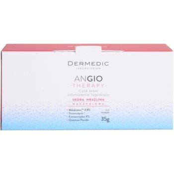 Dermedic Angio Therapy інтенсивний заспокоюючий охолоджуючий крем для чутливої шкіри та шкіри схильної до почервонінь 3