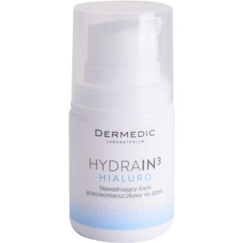 Fotografie Dermedic Hydrain3 Hialuro hydratační denní krém proti vráskám 55 g