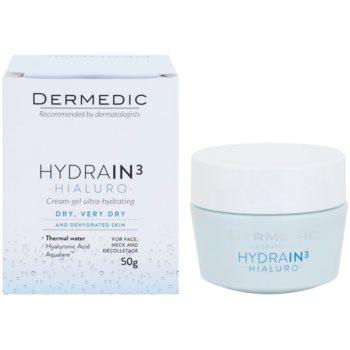 Dermedic Hydrain3 Hialuro głęboko nawilżający krem-żel 1