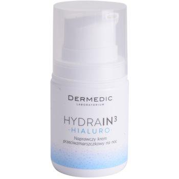 Fotografie Dermedic Hydrain3 Hialuro hydratační noční krém proti vráskám 55 g
