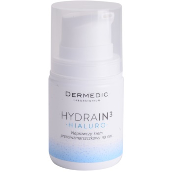 Dermedic Hydrain3 Hialuro хидратиращ нощен крем против бръчки
